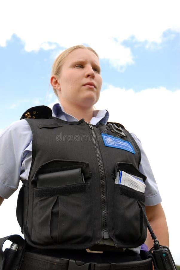 Oficial da comunidade da polícia fotografia de stock royalty free