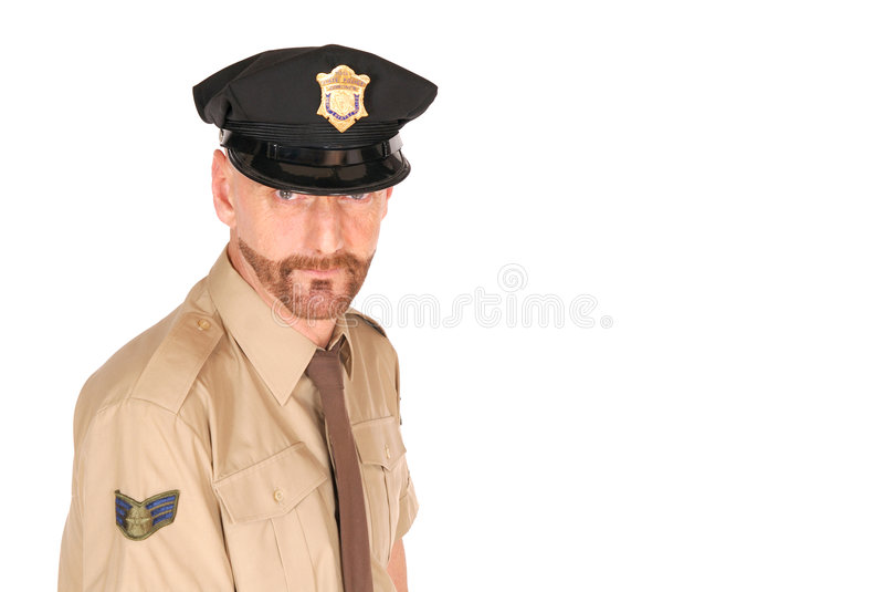 Oficial de polícia fotos de stock royalty free