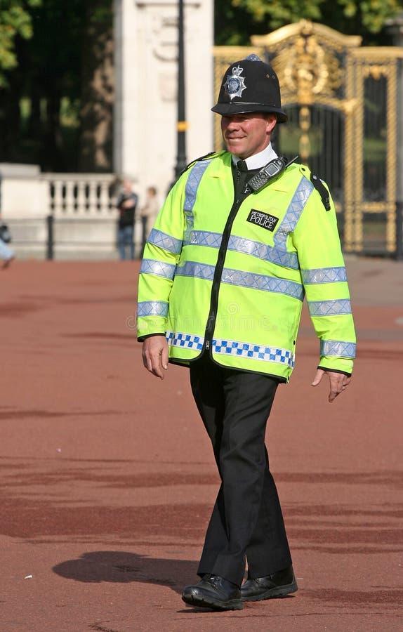 Oficial de polícia britânico imagem de stock