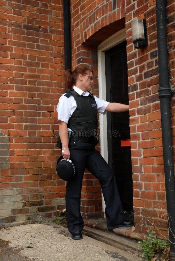 Oficial de polícia britânico fotografia de stock royalty free