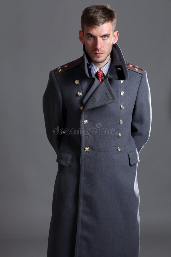 Oficial del ejército ruso imagen de archivo