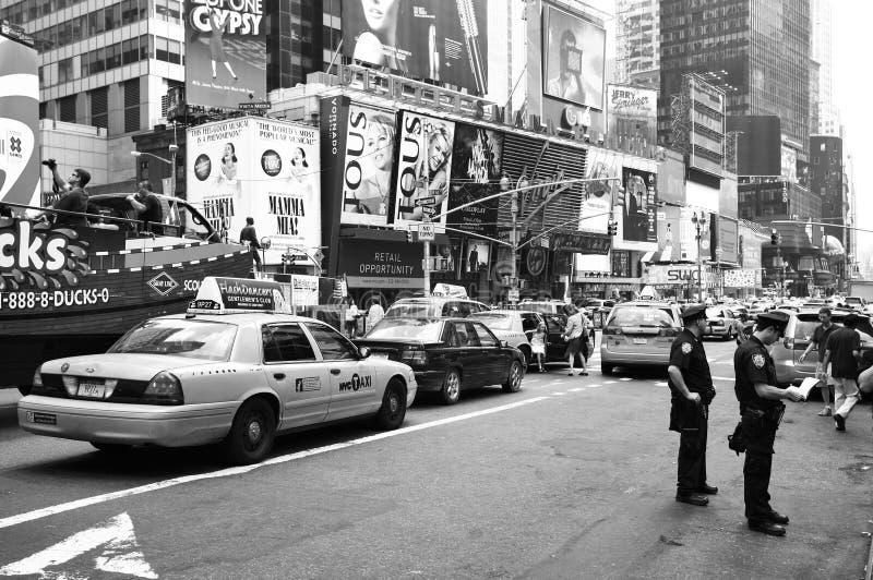 Oficiales de policía de New York City fotos de archivo libres de regalías
