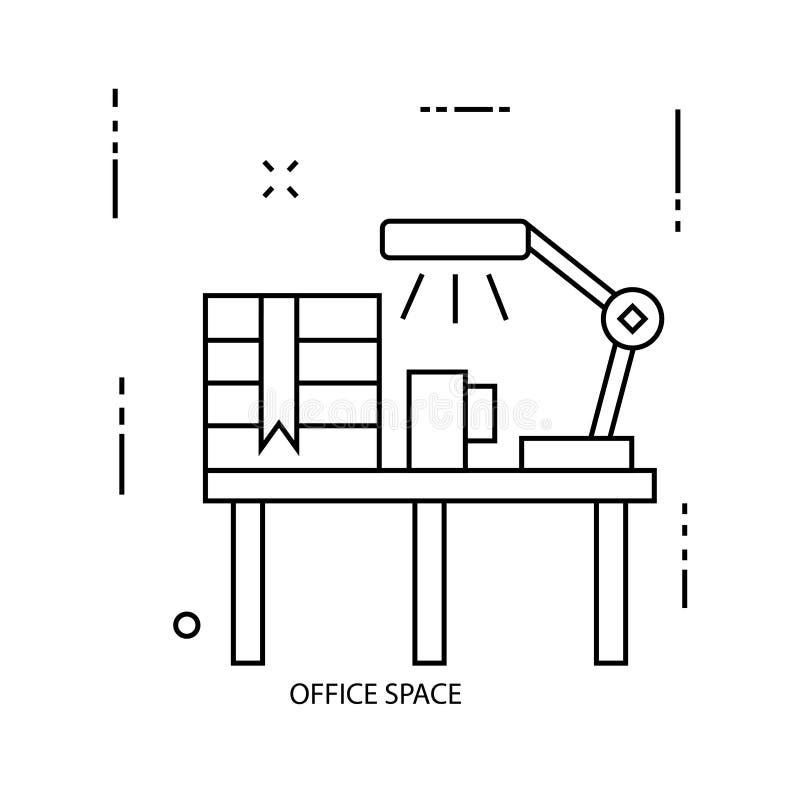 oficina stock de ilustración
