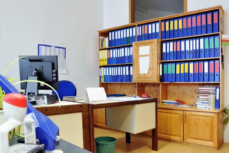 Oficina imagen de archivo
