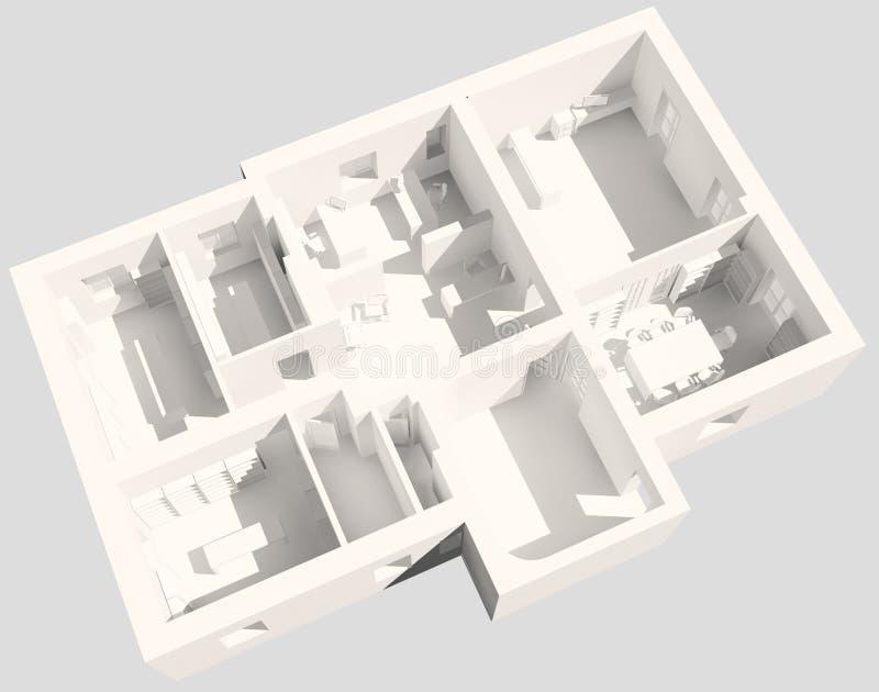 oficina 3d libre illustration