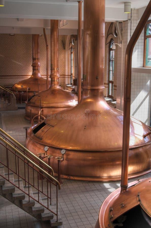 Oficina da cervejaria imagem de stock royalty free