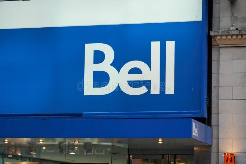Oficina de Bell Canada imágenes de archivo libres de regalías