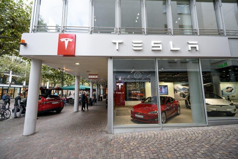 Oficina de construção mecânica de Tesla em Francoforte foto de stock