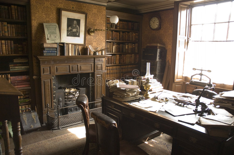 Oficina de los abogados del Victorian imagen de archivo