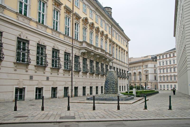 Oficina del ` s del canciller de Austria en Viena foto de archivo