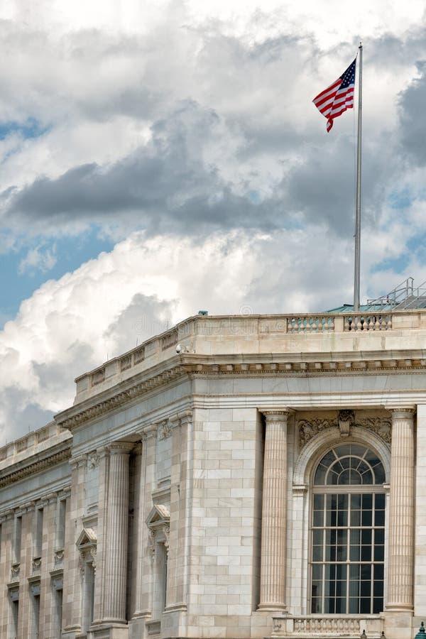 Oficina del senado de la C.C. de Washington imagenes de archivo