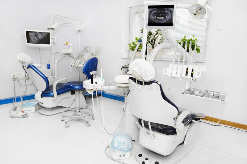 Oficina dental imagen de archivo