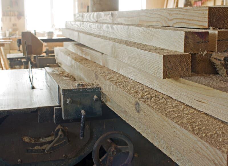 Oficina do carpinteiro imagens de stock