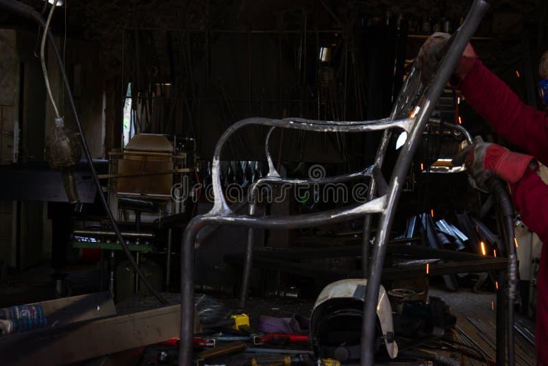 Oficina do ferreiro imagem de stock