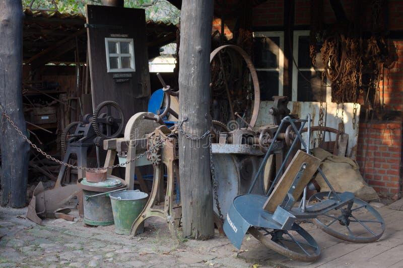 Oficina do olde de Ya - Hamburgo - Alemanha imagens de stock