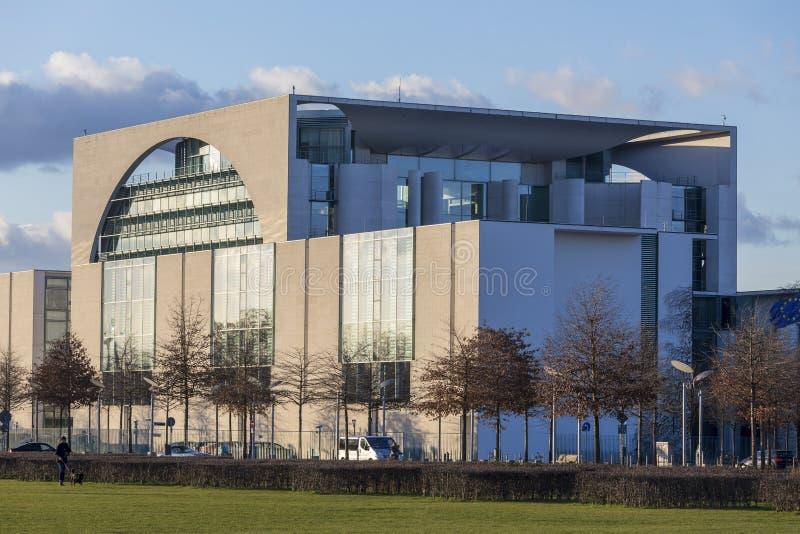Oficina federal alemana Berlín del canciller foto de archivo