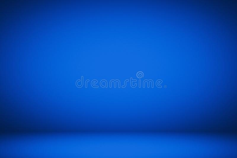 Oficina granulado azul do estúdio ilustração royalty free