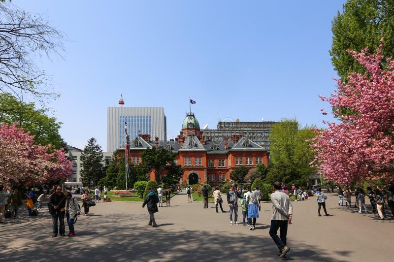 Oficina gubernamental anterior de Hokkaido imagenes de archivo