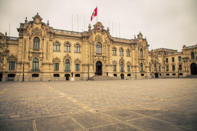 Oficina Lima del parlamento fotografía de archivo