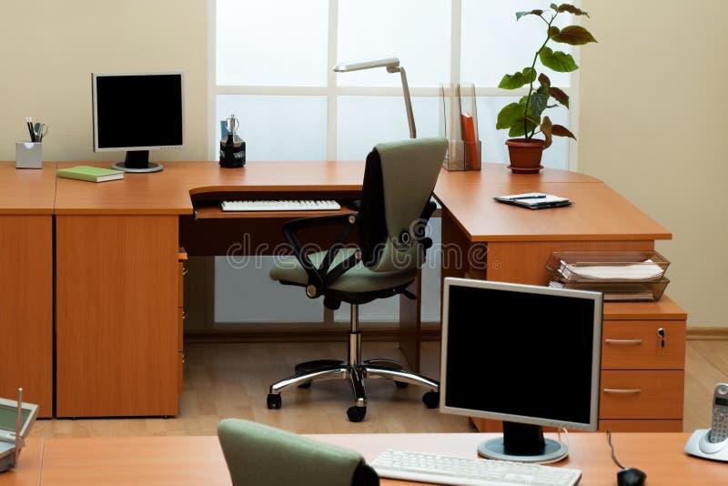 Oficina moderna foto de archivo