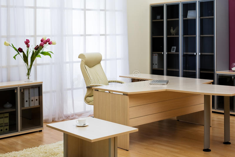 Oficina moderna imagen de archivo libre de regalías