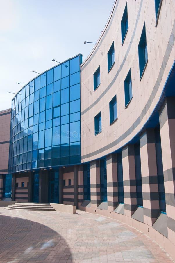Oficina moderna y exterior comercial del centro fotos de archivo