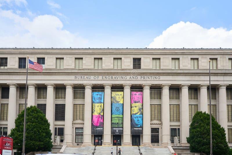 Oficina nacional de grabado y de impresión imágenes de archivo libres de regalías