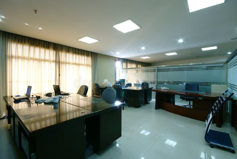 Oficina ordenada de la compañía imagen de archivo libre de regalías