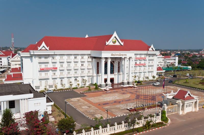 Oficina Primera-Ministerâs laosiana imagenes de archivo