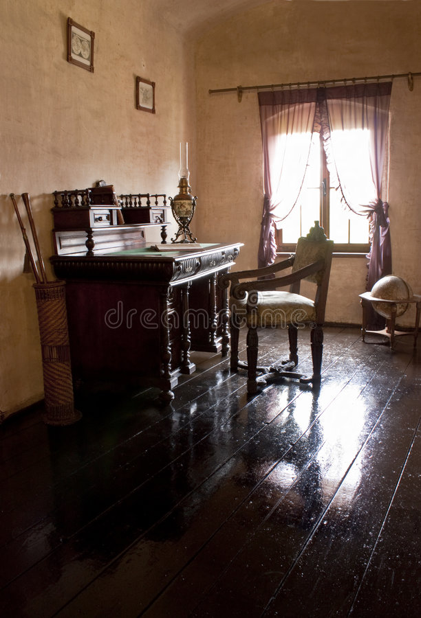 Oficina privada foto de archivo