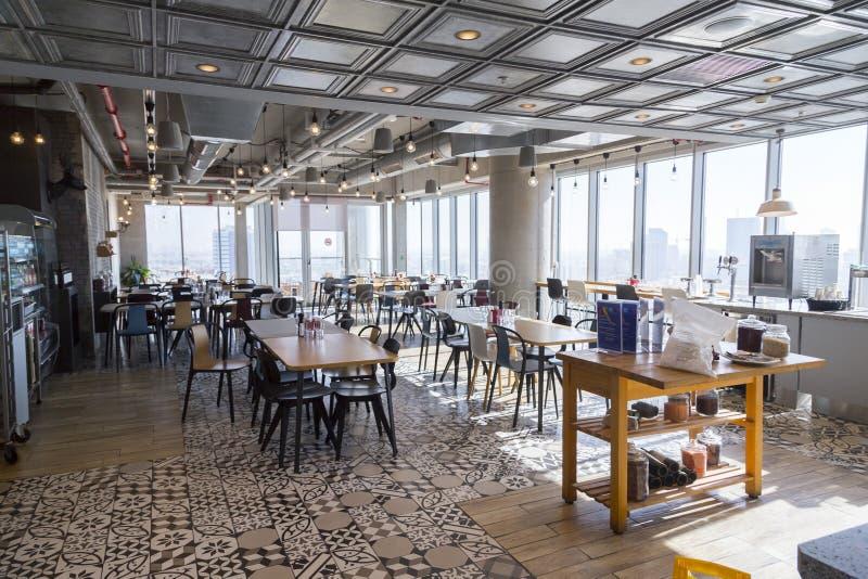 Oficina Tel Aviv, Israel de Google fotografía de archivo