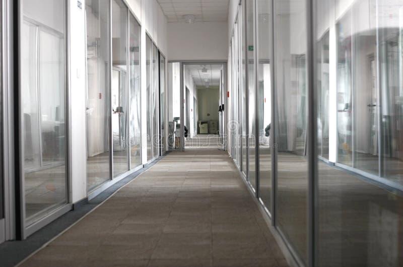 Oficinas de la compañía interiores imagen de archivo
