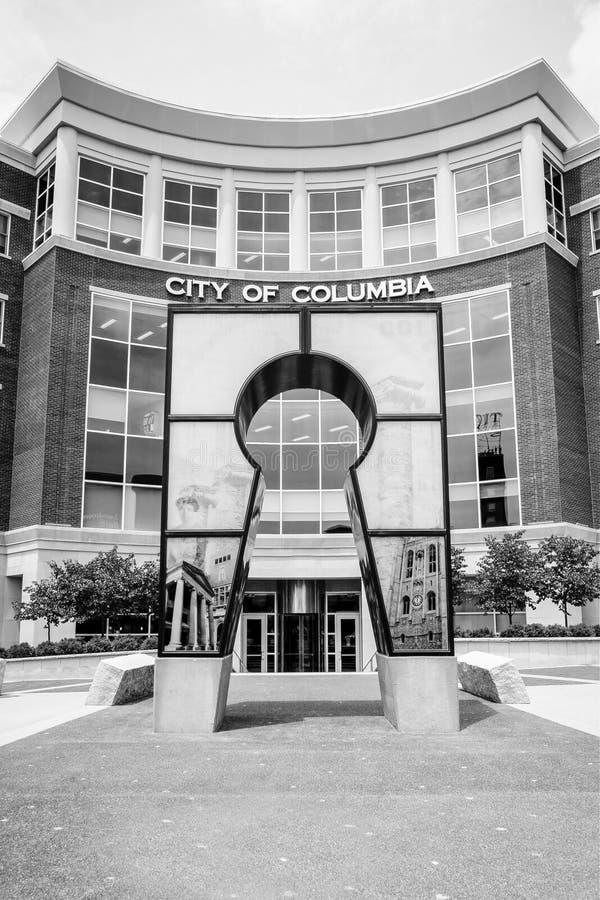 Oficinas gubernamentales Columbia, MES imagen de archivo libre de regalías