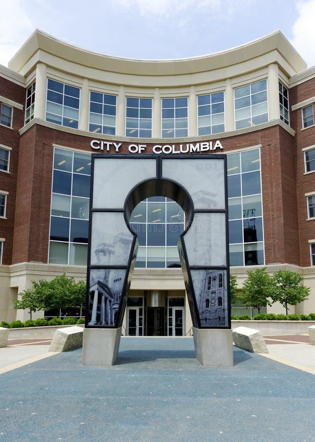 Oficinas gubernamentales Columbia, MES fotografía de archivo