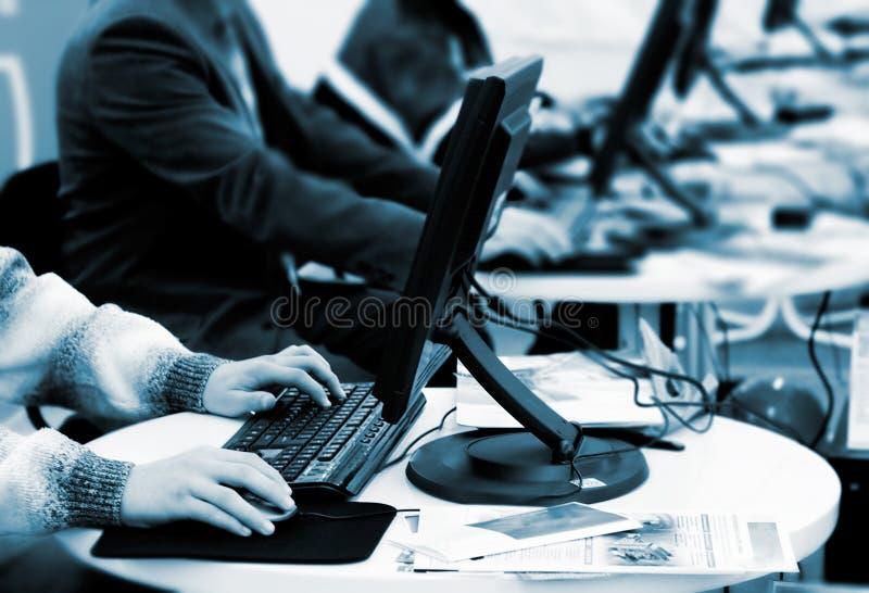 Oficinistas fotografía de archivo libre de regalías