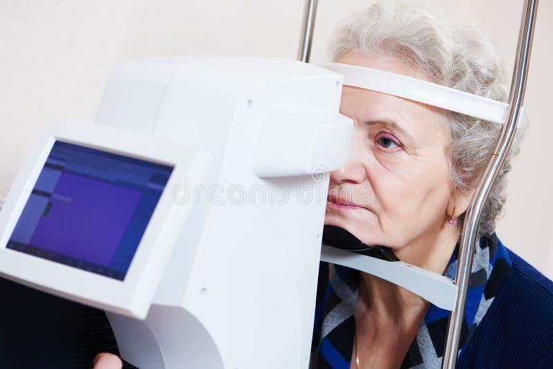 Oftalmologia ou optometria fotografia de stock royalty free