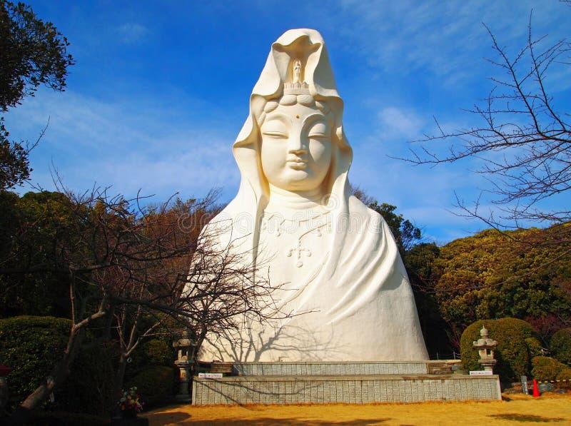 Ofuna Kannon royaltyfria bilder