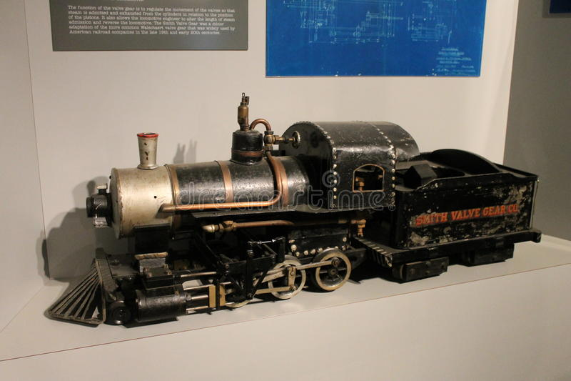 Ogólna lokomotywa obraz stock