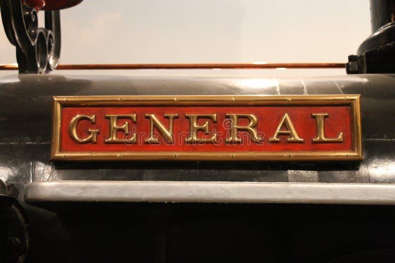 Ogólna lokomotywa obraz royalty free