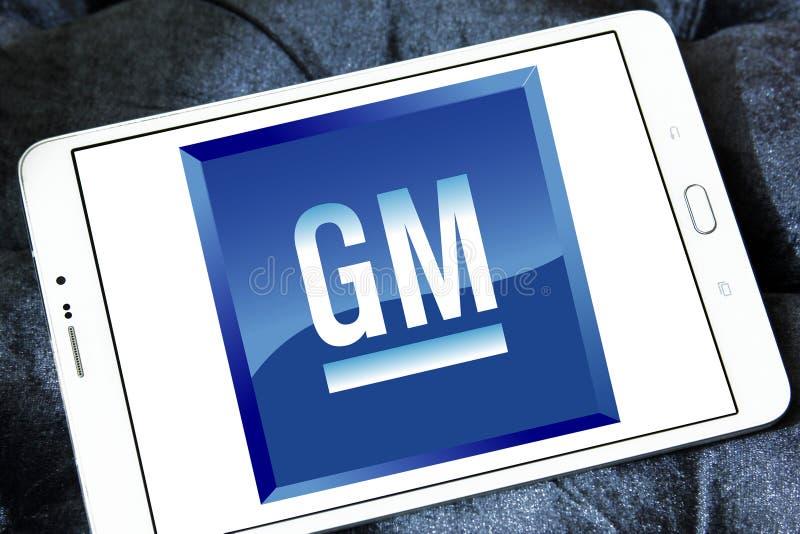 Ogólni silniki, GM logo zdjęcie stock