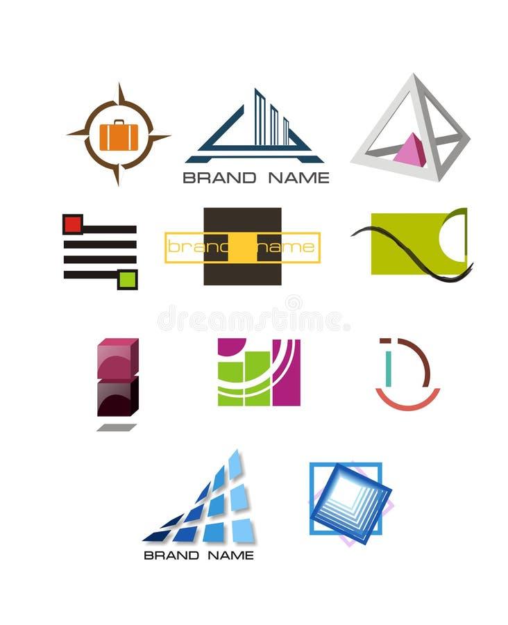 Ogólnoludzcy logowie obrazy stock