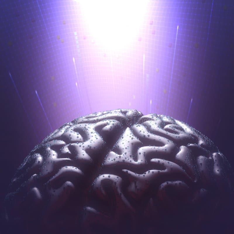 Ogólnoludzki umysł ilustracja wektor