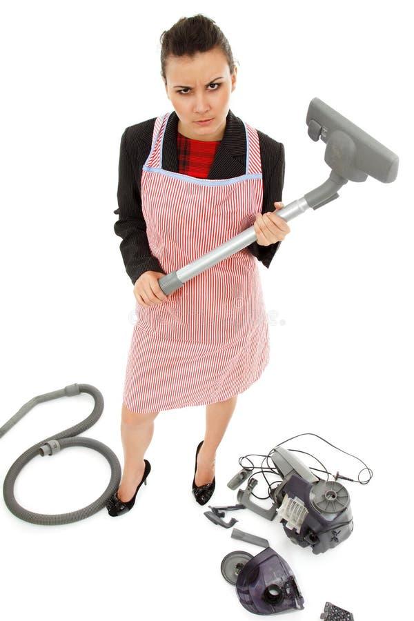 Ogólnoludzkiego multitasking super kobieta zdjęcie royalty free