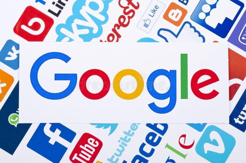 Ogólnospołeczna medialna ikona royalty ilustracja