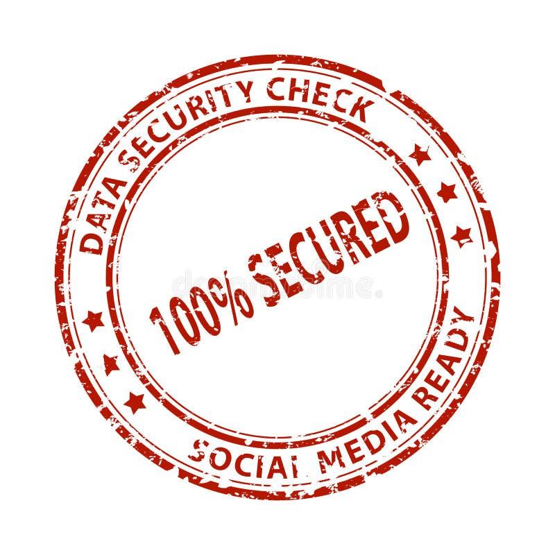 Ogólnospołeczny środka znaczek zdjęcie stock