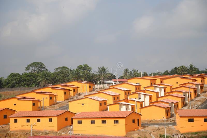 Ogólnospołeczny budynek mieszkalny obraz stock