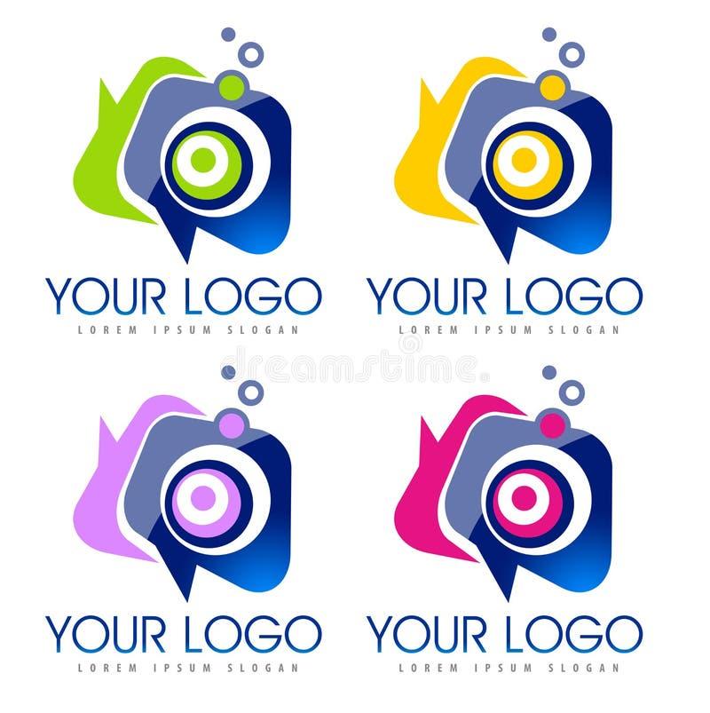 Ogólnospołeczny ikona logo royalty ilustracja