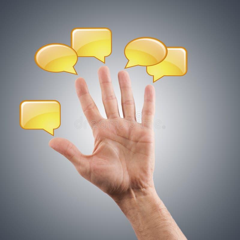 Ogólnospołeczny networking ilustracja wektor