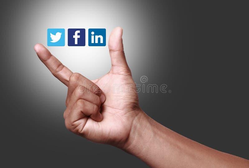 Ogólnospołeczny networking fotografia royalty free