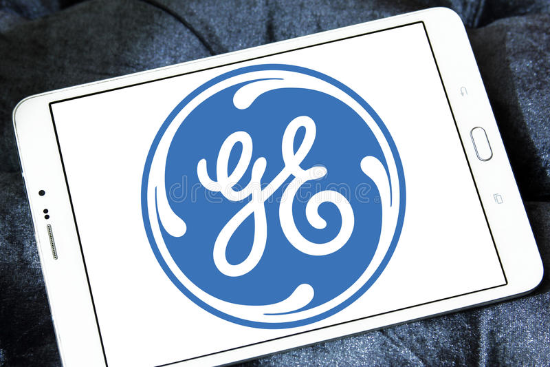 Ogólny elektryczny logo obrazy stock